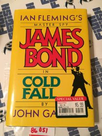 Ian Fleming's Master Spy James Bond in Cold Fall by John Gardner Hardcover (1996)