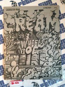 Cream Wheels of Fire RARE Music Sheet and Photo Magazine (1968)