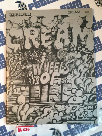 Cream Wheels of Fire RARE Music Sheet and Photo Magazine (1968)
