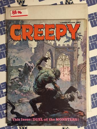 Creepy Magazine #7 Warren Comics, Frank Frazetta Cover (1964)