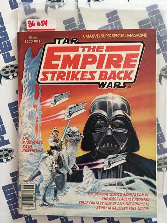 Star Wars The Empire Strikes Back Marvel Super Special Magazine No. 16 1980