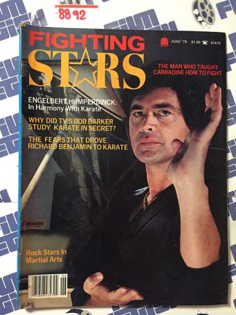 Fighting Stars Magazine (June 1978) Bob Barker, Engelbert Humperdinck, Richard Benjamin [8892]