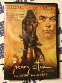 Frank Frazetta Painting with Fire Autographed by Director #17 of 200 (2003)