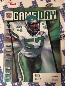 Gameday Magazine New York Giants vs. Jets (August 19, 1995) Giants Stadium, Mo Lewis 8809