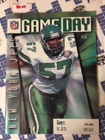 Gameday Magazine New York Giants vs. Jets (August 19, 1995) Giants Stadium, Mo Lewis 8809