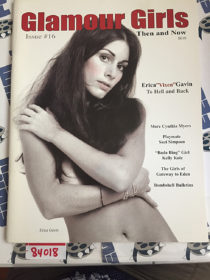 Glamour Girls Magazine (Spring Summer 2002, Issue Number 16) Erica Gavin [84018]