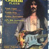 Guitar Player Magazine (January 1977) Frank Zappa, Freddie King, Lindsey Buckingham [86029]