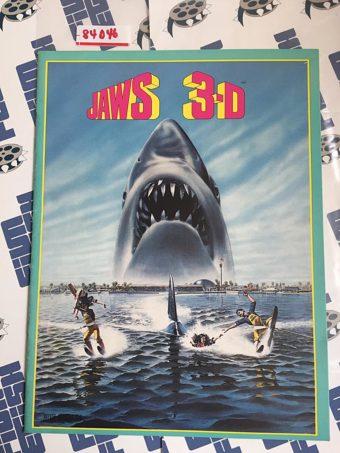 Original Jaws 3-D Press Book (1983) [84046]