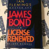 Ian Fleming's Master Spy James Bond in License Renewed Hardcover Edition (1981)