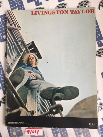 Livingston Taylor Sheet Music and Photo Magazine (1971)