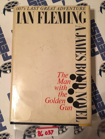 Ian Fleming's The Man With the Golden Gun Hardcover Edition