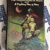 The Mastermind of Mars and A Fighting Man of Mars (1973) Frank Frazetta cover art