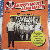 Walt Disney Mickey Mouse Club Alma Mater 45 rpm Record