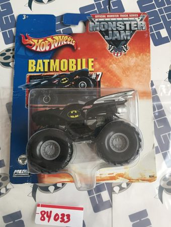 Hot Wheels Monster Jam Batmobile #7