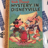 Walt Disney's Mystery in Disneyville Golden Story Book (1950)