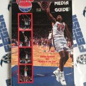 New Jersey (Brooklyn) Nets 1991-92 Season Media Guide Program