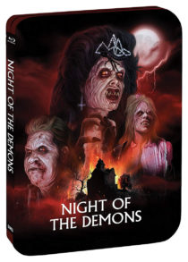 Night of the Demons Limited Edition Steelbook Blu-ray
