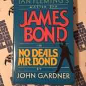 Master Spy James Bond in No Deals Mr. Bond Hardcover Edition (1987) [86042]