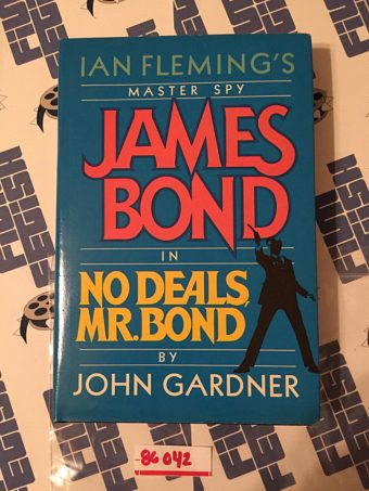 Master Spy James Bond in No Deals Mr. Bond Hardcover Edition (1987) [86042]