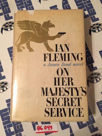 On Her Majesty's Secret Service Hardcover Edition