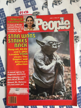 People Weekly Magazine (June 9, 1980) Star Wars Strikes Back, Yoda, Don Adams