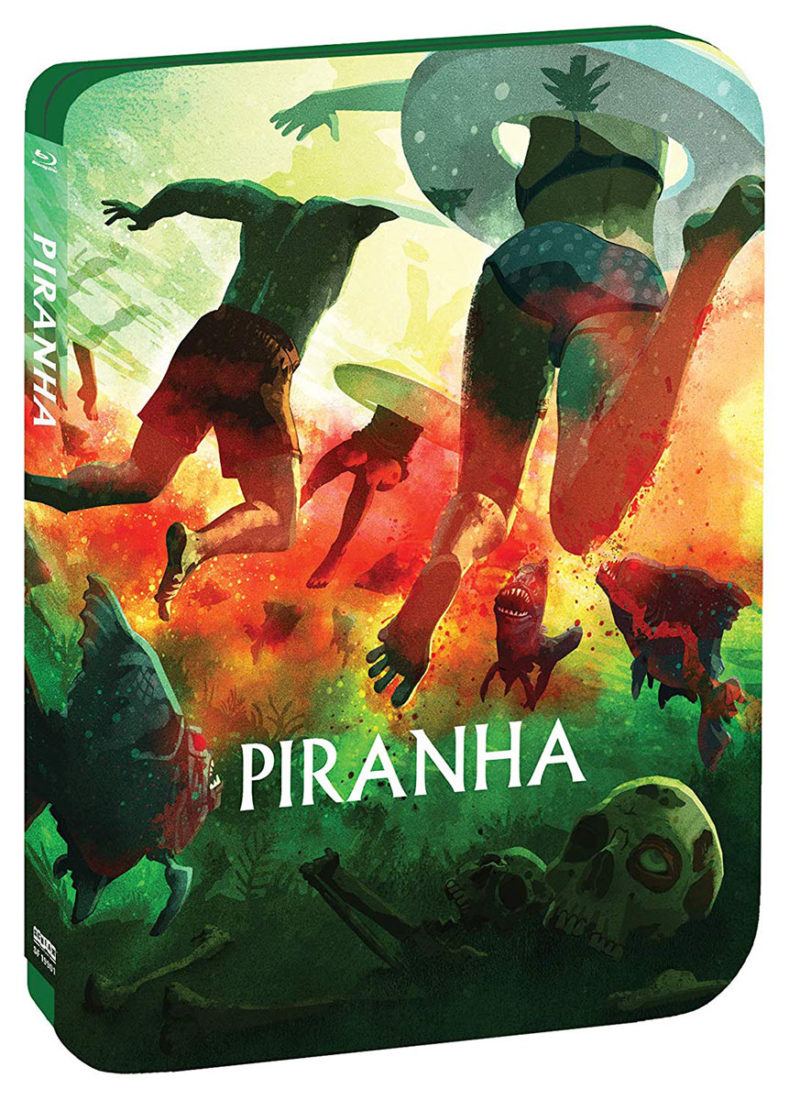 Piranha Limited Edition Blu-ray Steelbook (2019)