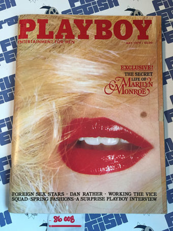 Playboy Magazine (May 1979) Secret Life of Marilyn Monroe