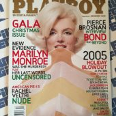 Playboy Magazine (December 2005) Marilyn Monroe, Rachel Veltri, Al Pacino, Scott Turow [86010]