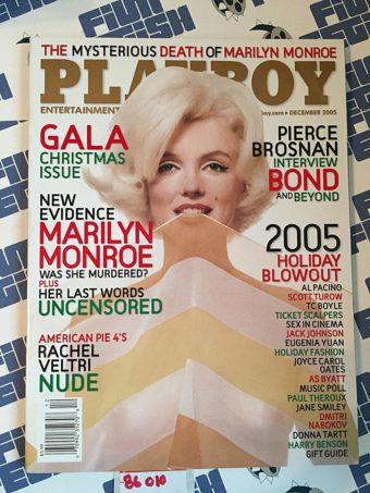 Playboy Magazine (December 2005) Marilyn Monroe, Rachel Veltri, Al Pacino, Scott Turow [86010]
