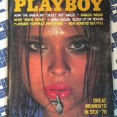 Playboy Magazine (February 1977) Raquel Welch, Great Moments in Sex [86012]