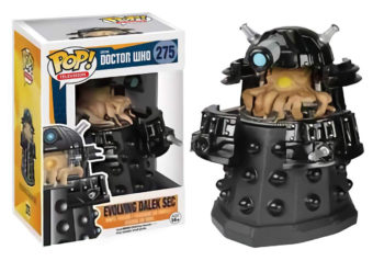 Funko POP Television BBC Doctor Who Evolving Dalek SEC Vinyl Figure Gamestop Exclusive #275 [POP4]