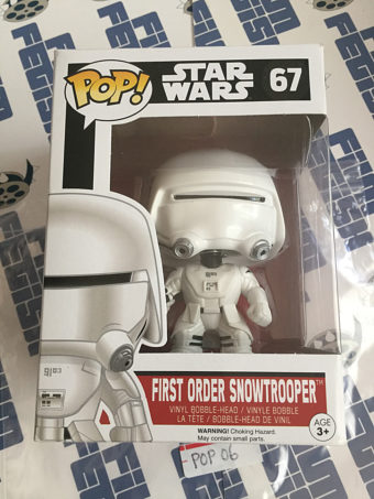 Funko POP Star Wars First Order Snowtrooper Vinyl Bobble-Head #67 [POP6]