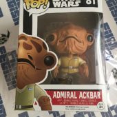 Funko POP Star Wars Admiral Ackbar Vinyl Bobble-Head #81 [POP7]