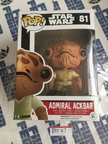 Funko POP Star Wars Admiral Ackbar Vinyl Bobble-Head #81 [POP7]