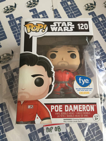 Funko POP Star Wars Poe Dameron Vinyl Bobble-Head #120 [POP8]