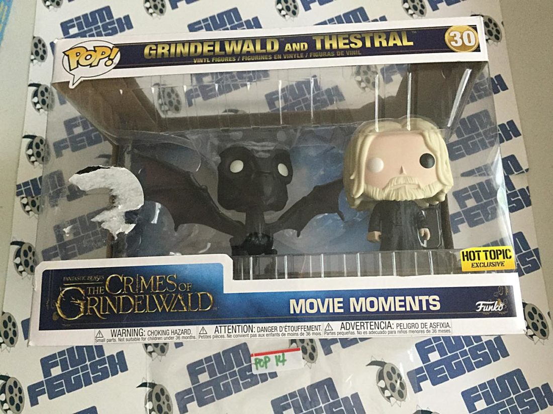 Funko POP Movie Moments Fantastic Beasts The Crimes of Grindelwald and Thestral Vinyl Figures Set #30 [P14]
