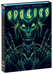 Species Collector's Edition Blu-ray with Slipcover