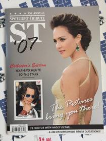 First Annual Spotlight Tribute Collector's Edition (2007) Jessica Alba, Johnny Depp