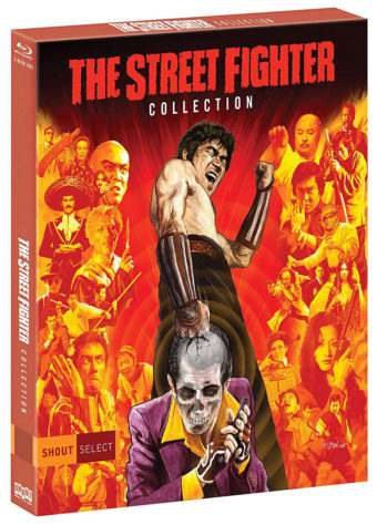 The Street Fighter Collection 3-Disc Blu-ray Set