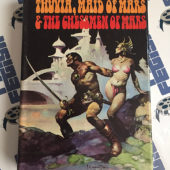 Thuvia Maid of Mars & The Chessmen of Mars by Edgar Rice Burroughs Hardcover (1972) Frank Frazetta Cover Art
