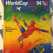World Cup USA 1994 Official Commemorative Program Peter Max Cover