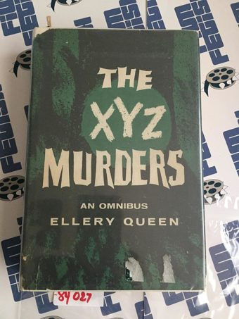 The XYZ Murders – An Omnibus by Ellery Queen Hardcover Edition (1934) 84027