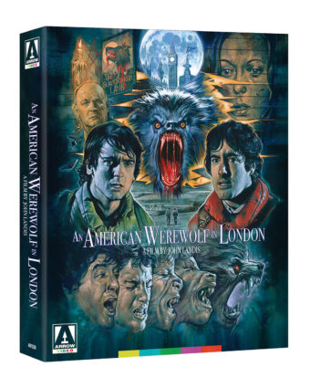 An American Werewolf In London Special Limited Edition Set with Poster and Reproduction Lobby Cards
