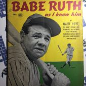 Babe Ruth As I Knew Him Commemorative Magazine by Waite Hoyt (1948)