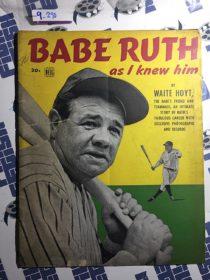 Babe Ruth As I Knew Him Commemorative Magazine by Waite Hoyt (1948)