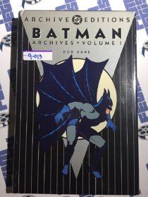 Batman Archives Volume 1 Bob Kane Hardcover (Archive Editions, Nov. 1997) [9013]