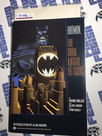 Batman: The Dark Knight Returns Trade Edition Second Printing (1986) [9046]