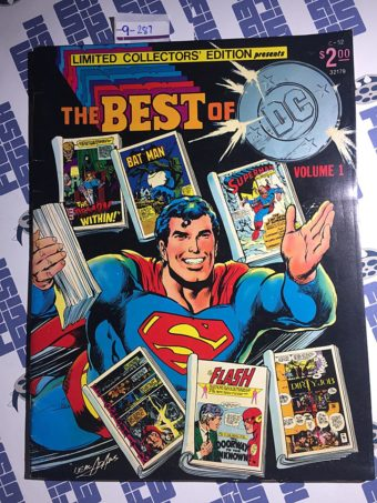 Limited Collectors' Edition The Best of DC Comics Volume 1 (Vol. 6, No. C52, 1977) Superman Cover
