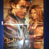 Buffy the Vampire Slayer 22 x 34 inch Double-Sided Promotional Poster