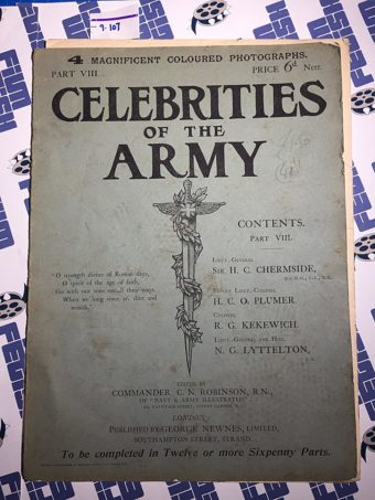 Celebrities of the Army Part VIII Lyttelton, Plumer, Kekewich, Chermside